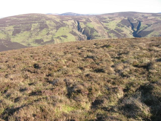 On Snarhead Hill towards Hunt Law