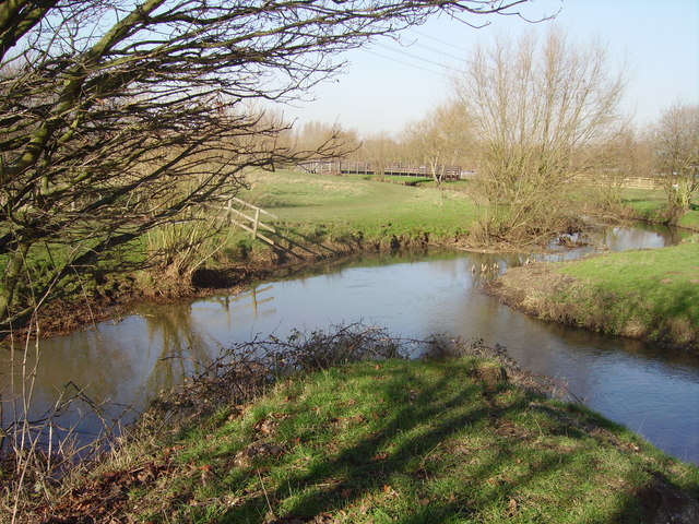 Where Cove Brook joins the River Blackwater