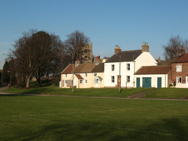 Pickhill village green