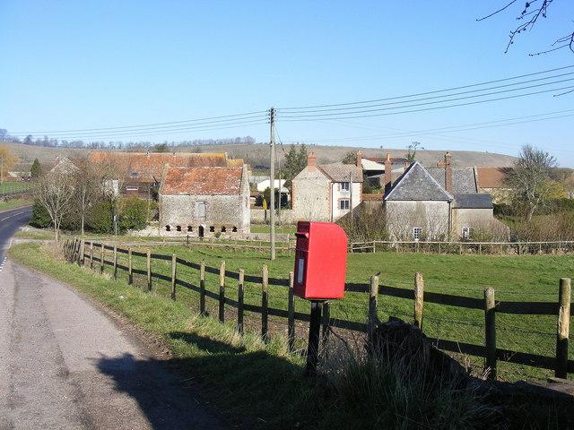 Post Box & Farm Buildings