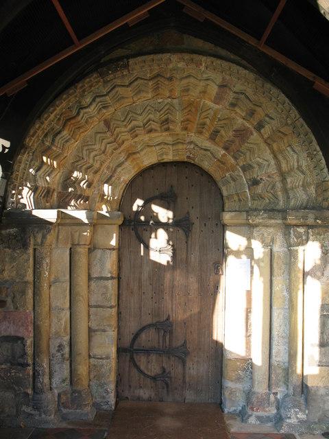 Doorway - All Saints church