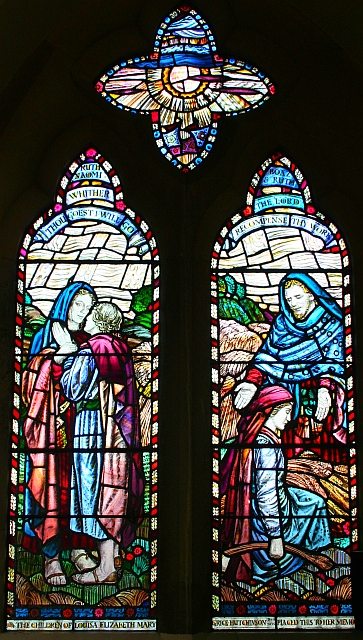 Ruth and Naomi Window, Hook Church