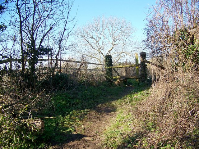 Stile to Gussage All Saints Church