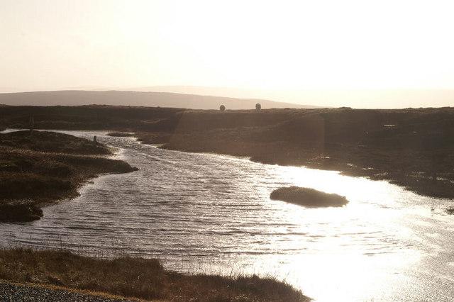 Lochan between North Sandwick and Gutcher