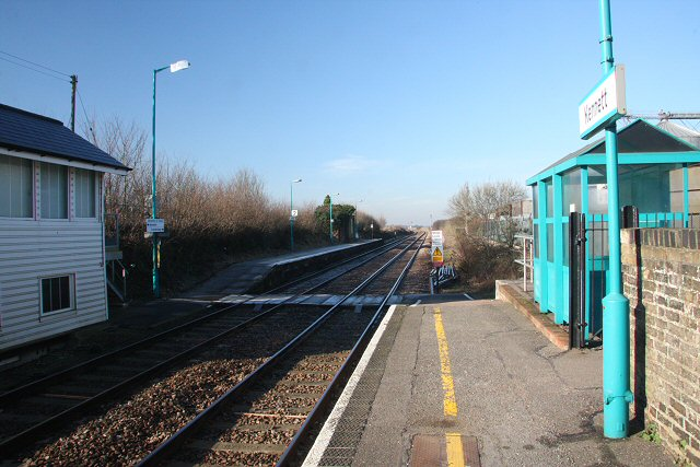 Kennett Station, looking west