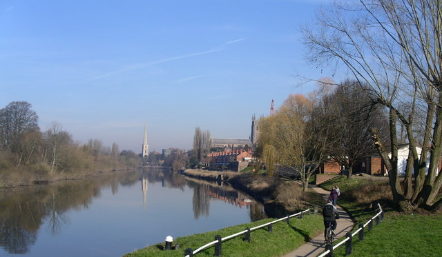 The Severn in winter