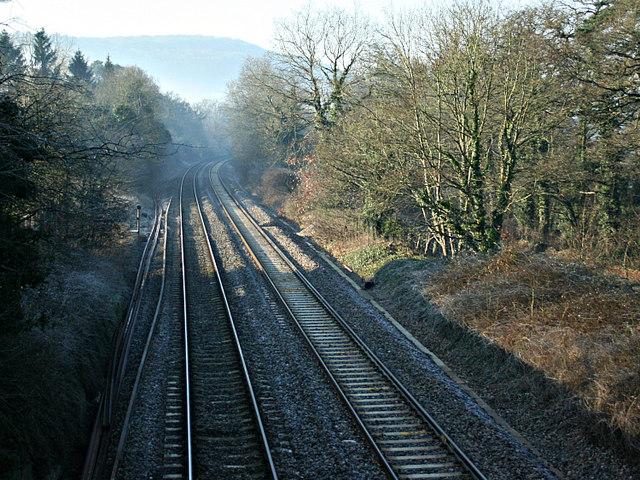 2008 : Bath to Chippenham main line