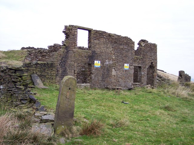 Causeway End Derelict Farmhouse