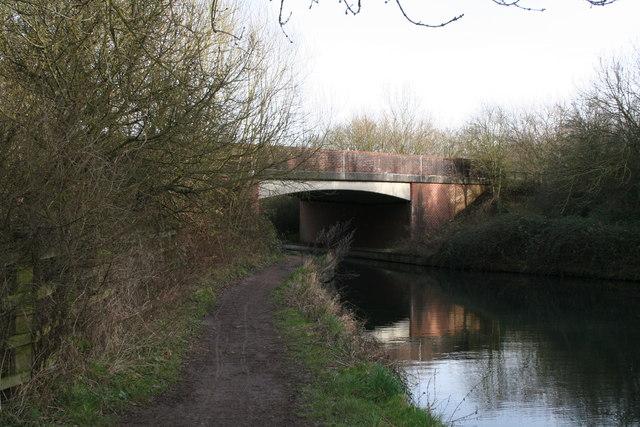 Odiham Bypass bridge, Basingstoke Canal