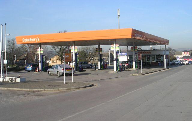 Sainsbury's Filling Station - Harrogate Road