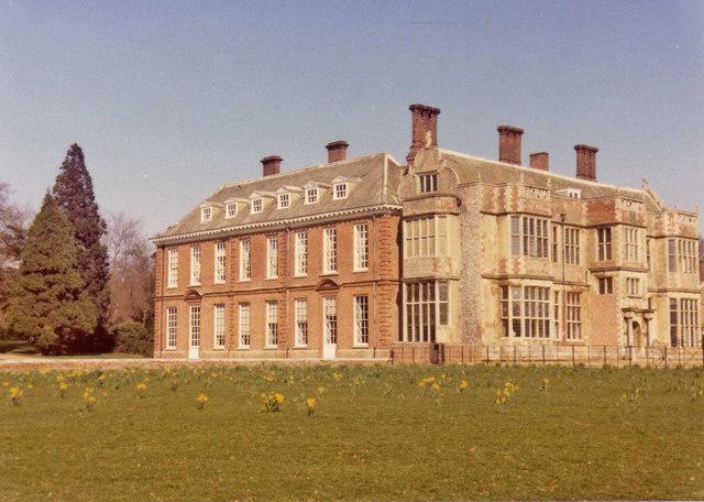 Felbrigg Hall, Norfolk in Spring