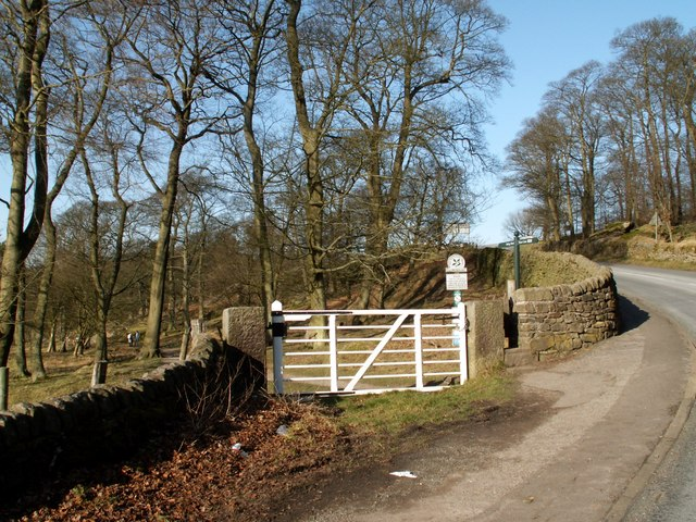 An entrance to Longshaw