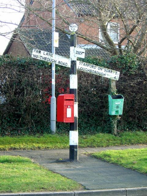 Signpost at Normanton