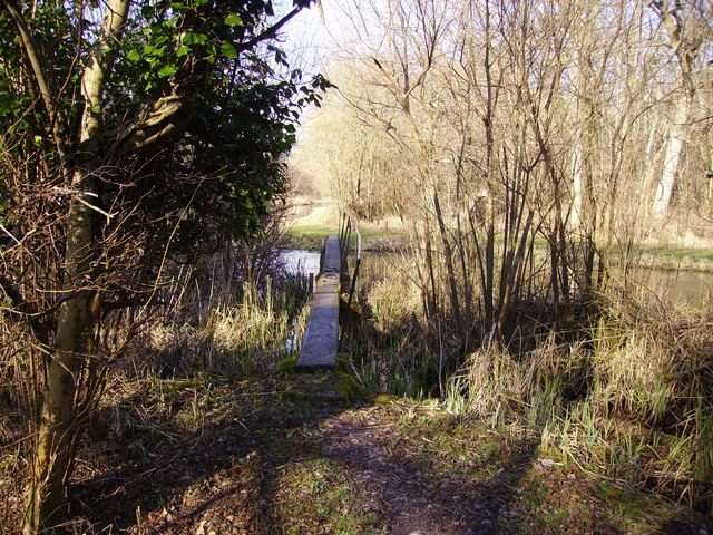 Barton Stacey - Footbridge Over the River Dever