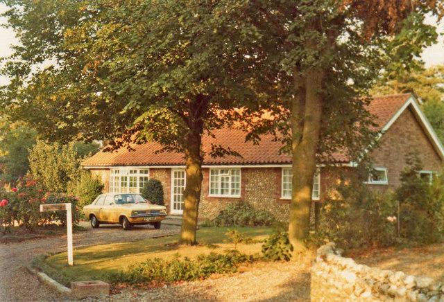 Bungalow in Back Lane, Blakeney, Norfolk