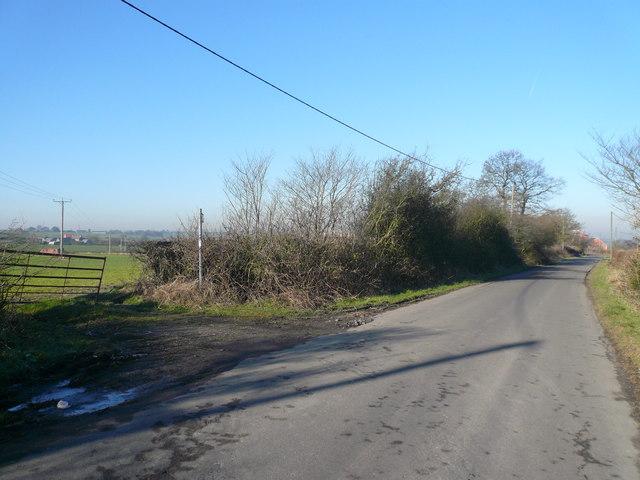 Silverhill Lane - Footpath View