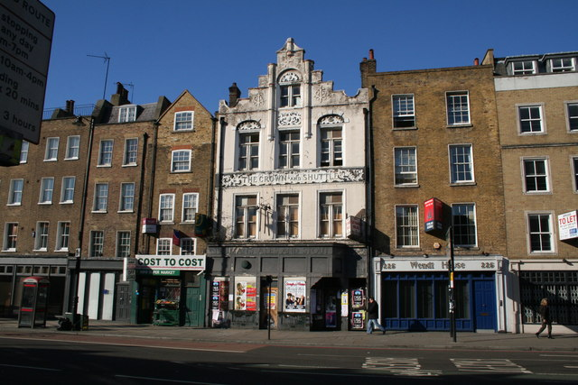 The 'Crown and Shuttle', Shoreditch High Street
