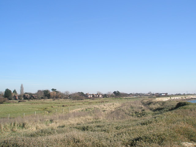 Looking towards  Mill Lane