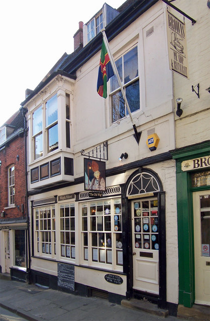 The Wig & Mitre, 30-32 Steep Hill, Lincoln