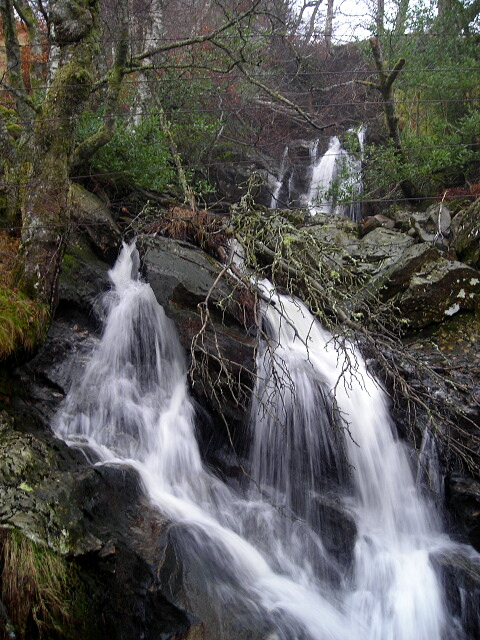 Waterfall Near Loch Katrine