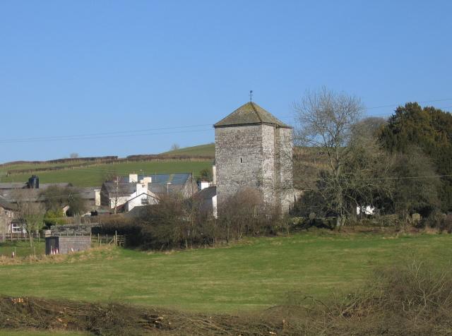 The Church Tower, Llanfihangel Nant Bran