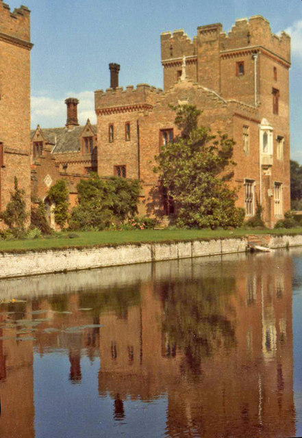 Oxburgh Hall with Moat, Oxborough, Norfolk