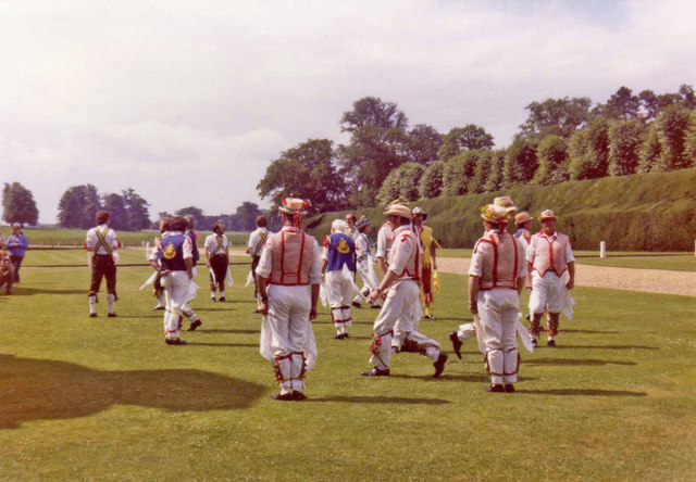Morris Dancers at Blickling Hall, Norfolk