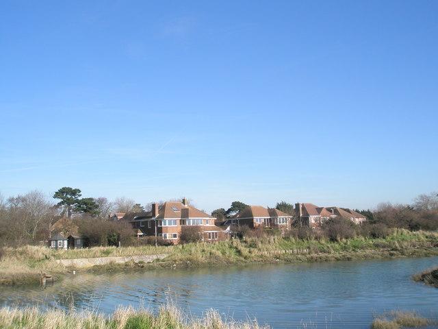 Rear of houses in Mill Lane