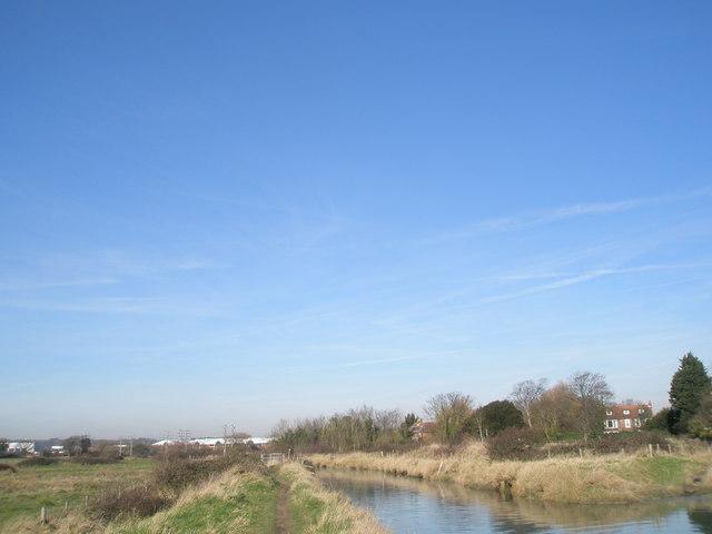 Beautiful river at Langstone
