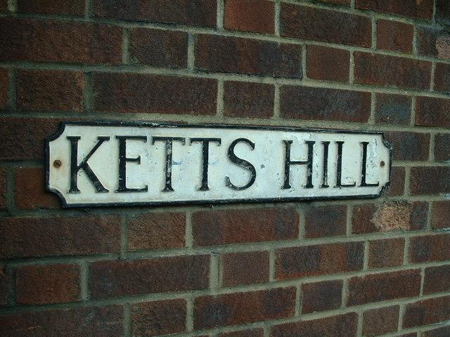 Ketts Hill road name