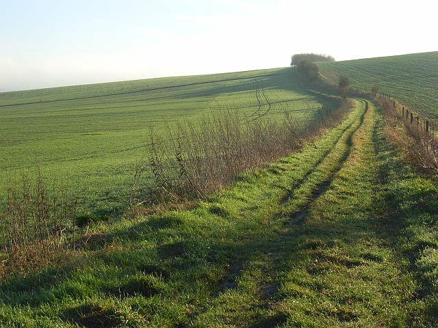 Bridleway on Watch Folly, South Stoke