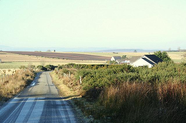 Roadside cottage east of Rowan Croft