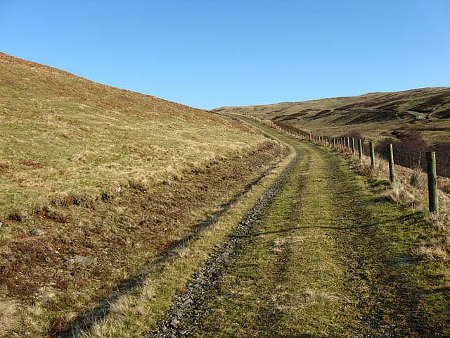 A hillside track