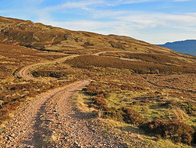 Hill track near Creag Odhar
