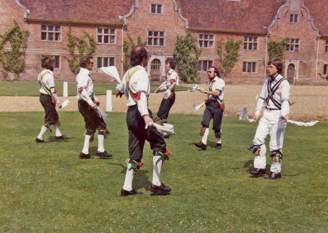 Morris Dancers at Blickling Hall, Norfolk