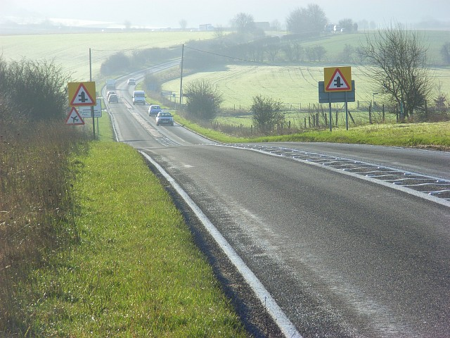 The A4074, Ipsden