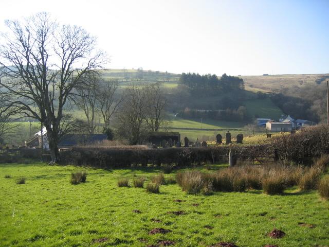 Blaendyryn in the Nant Bran Valley