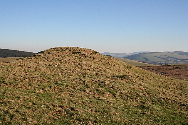 The First Cairn at  Cairnmore
