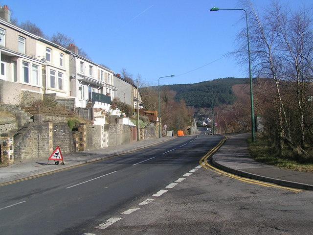 Aberbeeg road, Aberbeeg
