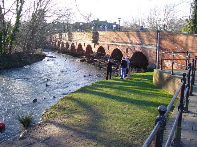 Leatherhead Town Bridge