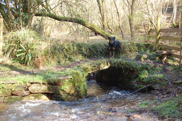 The foot bridge to Clicket