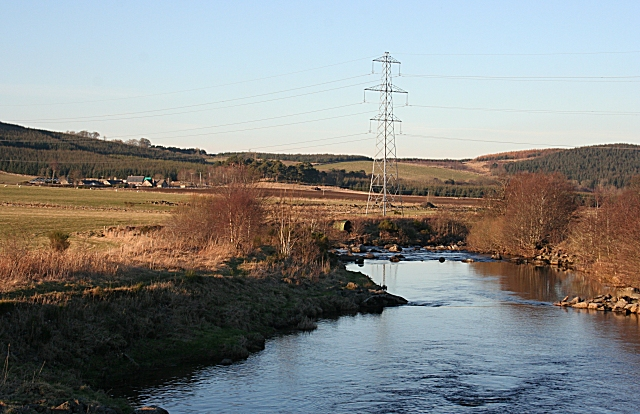 River Deveron Downstream of Cairnford Bridge