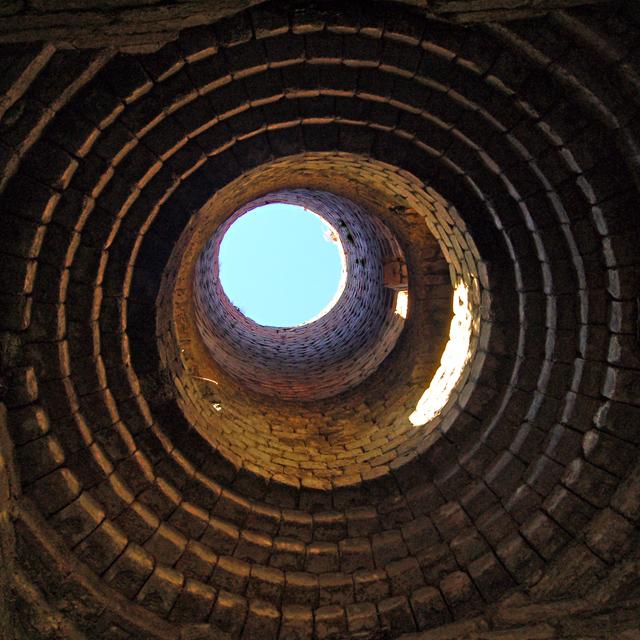 Invertote diatomite kiln