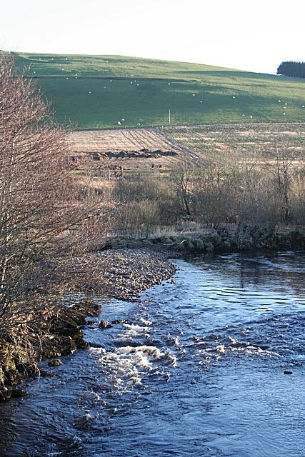 Clashmach Hill and River Deveron