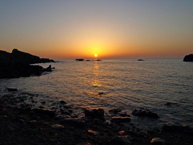 Broad Craig sunset