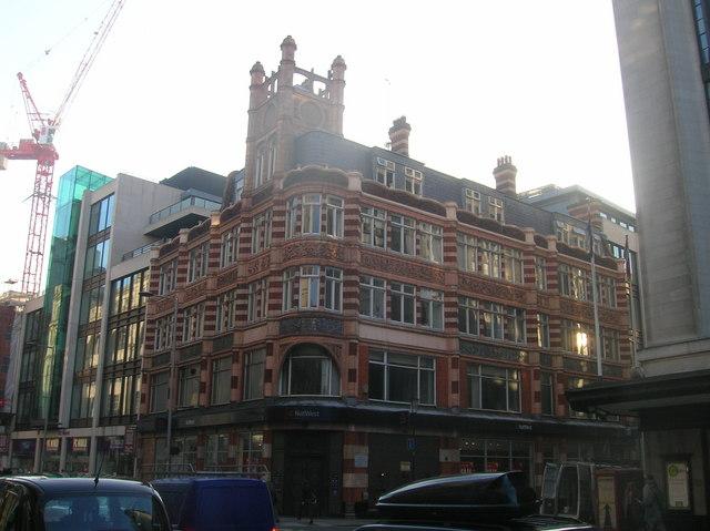 National Westminster Bank, Kensington High Street, London W8