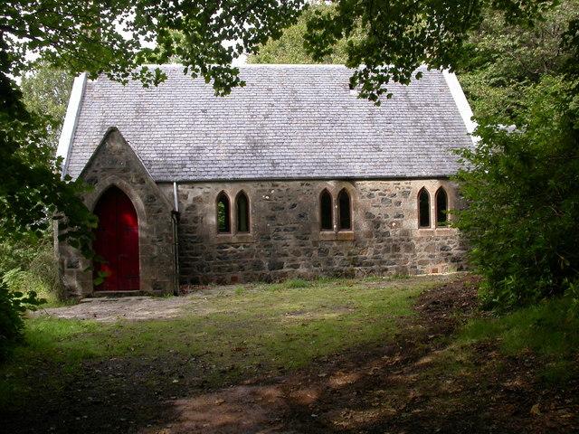 Deserted Church off Drimnin road
