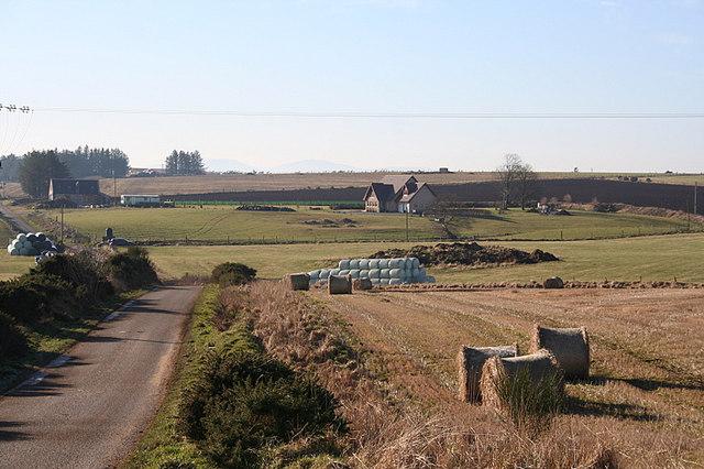 Farm houses in the Briggs area