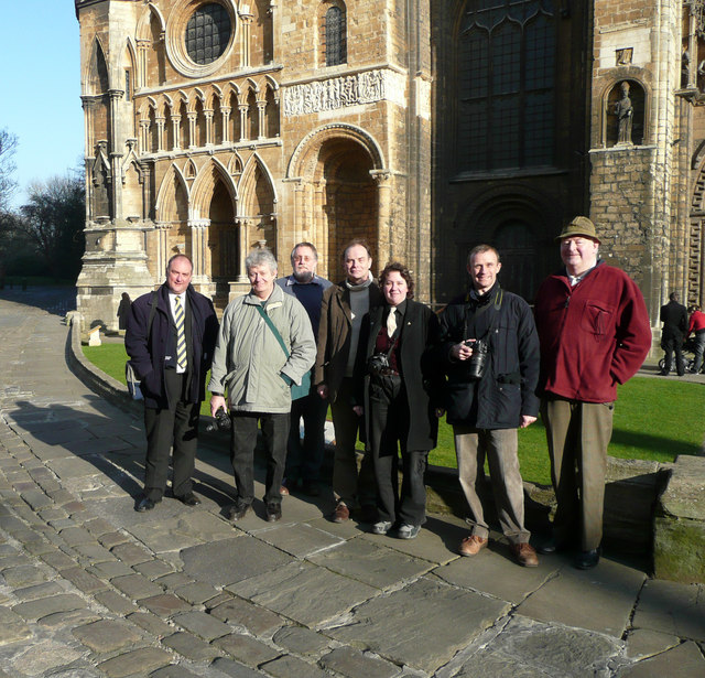 Seven Geographers at Lincoln