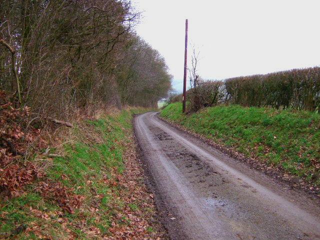 Lane near Clunton Hill